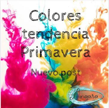 Colores tendencia primavera
